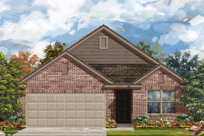 New Homes in San Antonio, TX - Plan 1647 C