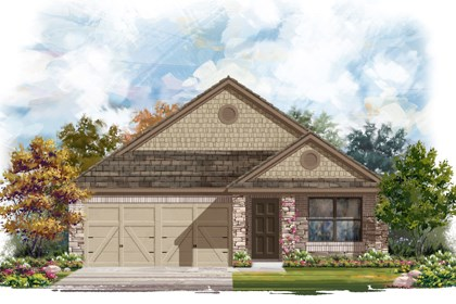 New Homes in San Antonio, TX - Plan 1647 D