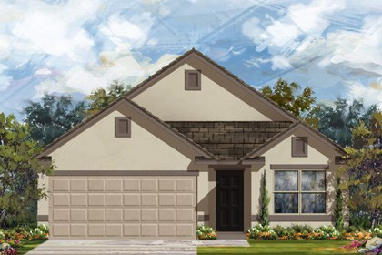 New Homes in San Antonio, TX - Plan 1647 E