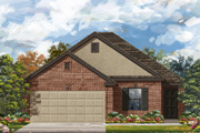 New KB Home built-to-order homes available at CrossCreek in San Antonio, TX. Plan E-1694 is one of many floor plans to choose from.