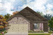 New Homes in Converse, TX - Plan 1694 Modeled