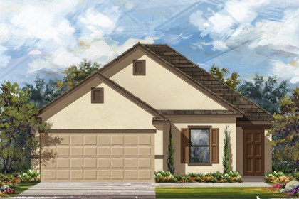 New Homes in New Braunfels, TX - Plan 1694 E