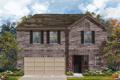 New Homes in New Braunfels, TX - Plan 2412 B