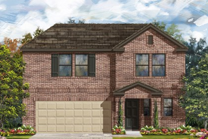 New Homes in New Braunfels, TX - Plan 2412 C