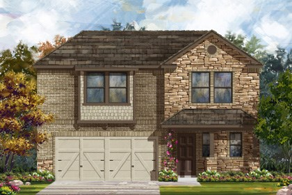New Homes in New Braunfels, TX - Plan 2412 D