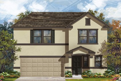 New Homes in New Braunfels, TX - Plan 2412 E