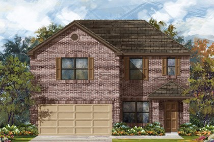 New Homes in San Antonio, TX - Plan 2177 B