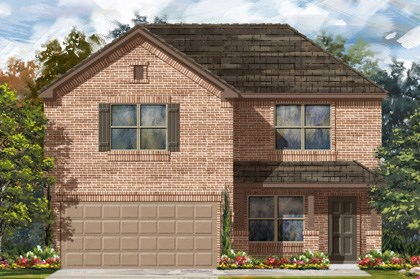 New Homes in San Antonio, TX - The 2177 C