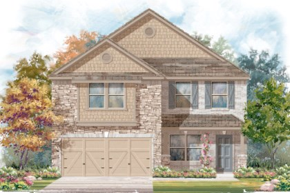 New Homes in San Antonio, TX - Plan 2177 D