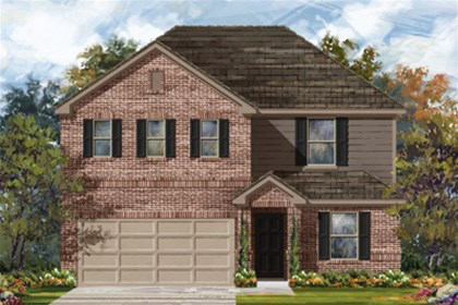 New Homes in New Braunfels, TX - Plan 2403 B