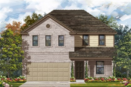 New Homes in New Braunfels, TX - Plan 2403 C