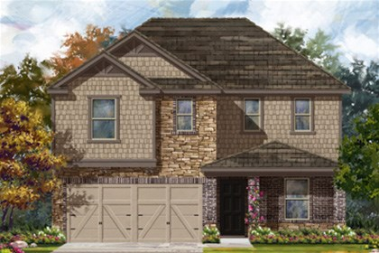 New Homes in San Antonio, TX - The 2403 D