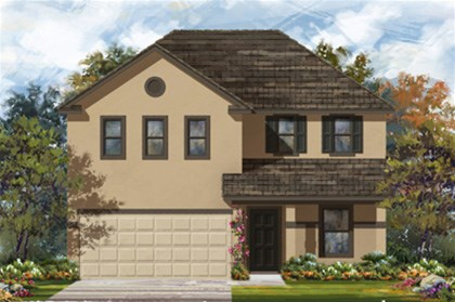 New Homes in New Braunfels, TX - Plan 2403 E
