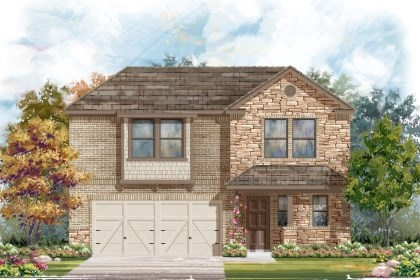 New Homes in San Antonio, TX - 2412 D