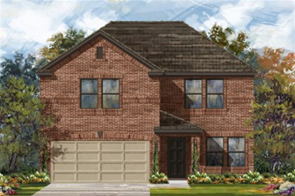 New Homes in San Antonio, TX - The 2505 B