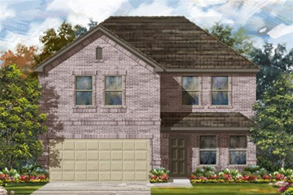 New Homes in San Antonio, TX - The 2505 C