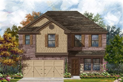 New Homes in San Antonio, TX - The 2505 D