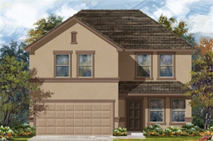 New Homes in San Antonio, TX - The 2505 E