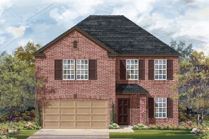 New Homes in Converse, TX - Plan 2898 B