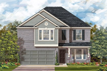 New Homes in Converse, TX - Plan 2898 C