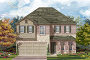 New KB Home built-to-order homes available at CrossCreek in San Antonio, TX. Plan E-2898 is one of many floor plans to choose from.