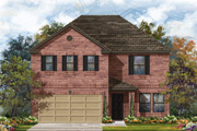 New KB Home built-to-order homes available at CrossCreek in San Antonio, TX. Plan E-2960 is one of many floor plans to choose from.
