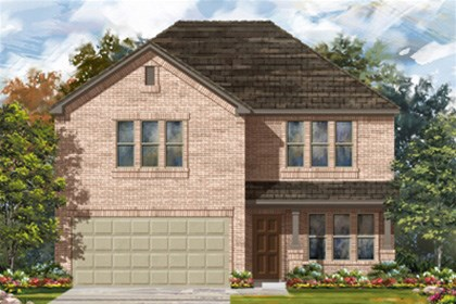 New Homes in San Antonio, TX - The 2960 C