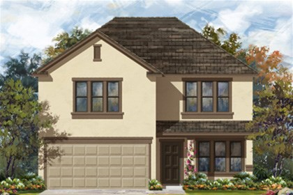 New Homes in New Braunfels, TX - Plan 2960 E