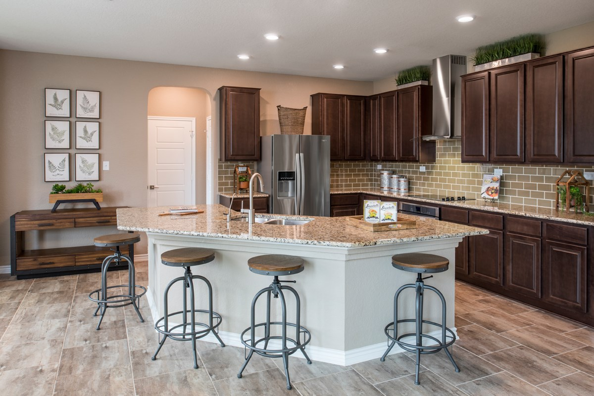 New Homes in San Antonio, TX - Canyon Crest The 2755 Kitchen