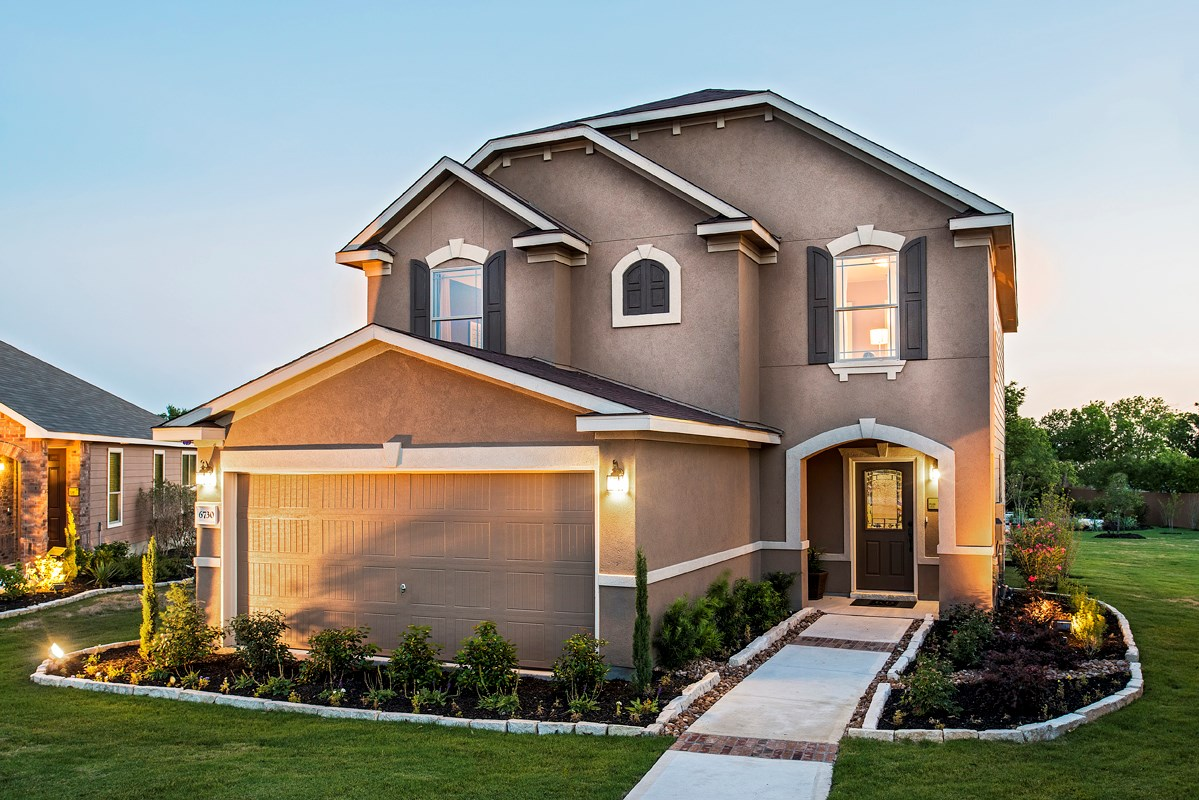 New homes for sale in san antonio tx carmona hills for Floor plans for homes in texas