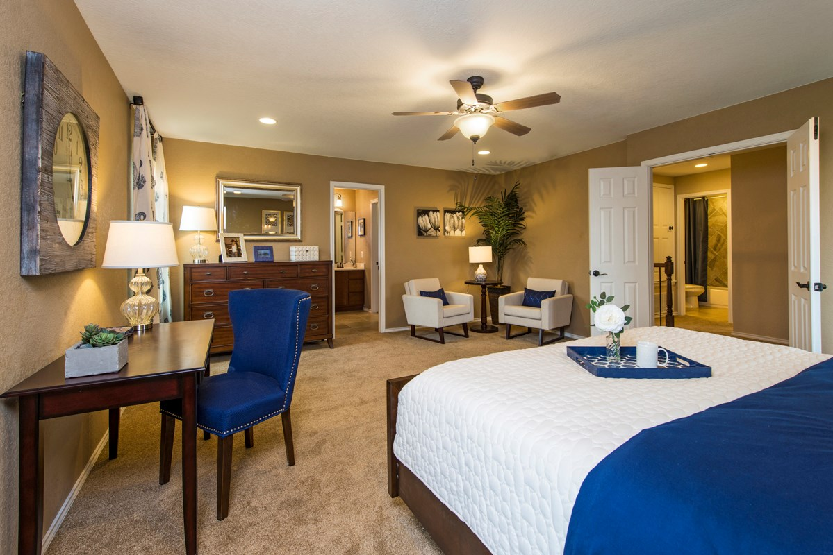 New Homes in San Antonio, TX - The Vistas of Carmona Hills The 1771 Master Bedroom