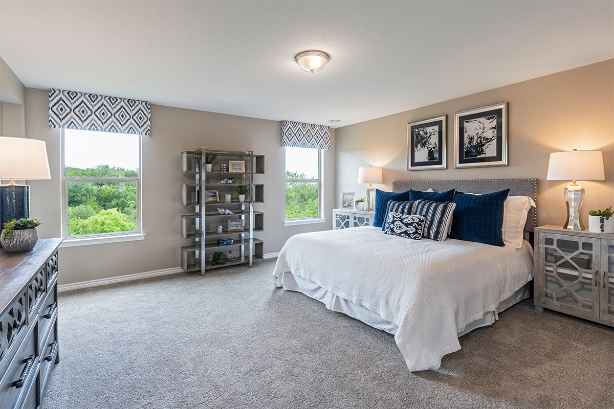 New Homes in San Antonio, TX - Champions Landing The 2403 Master Bedroom