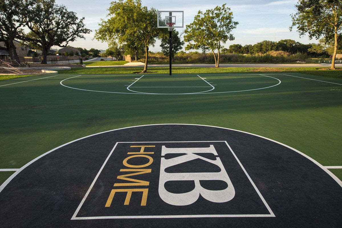 New Homes in San Antonio, TX - The Oaks at Cobblestone Community basketball