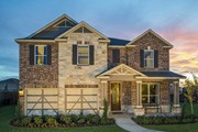 New Homes in Georgetown, TX - Plan A-3125 MODELED