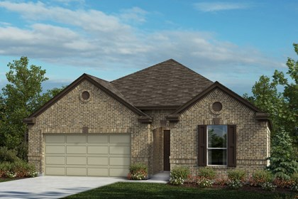 New Homes in Universal City, TX - The 2004 A
