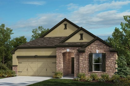 New Homes in Universal City, TX - The 2004 D