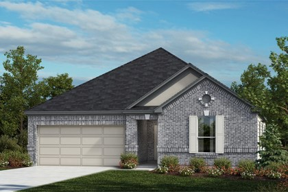 New Homes in Universal City, TX - The 2382 A