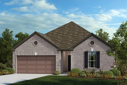 New Homes in Universal City, TX - The 2382 B