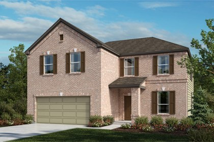 New Homes in Universal City, TX - The 2469 A