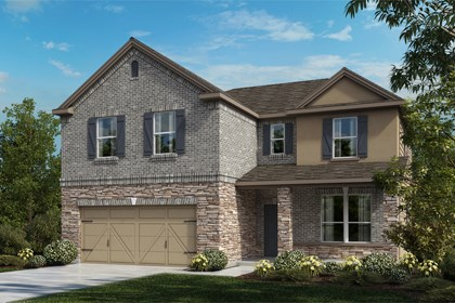 New Homes in Universal City, TX - The 2469 C