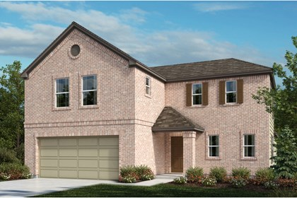 New Homes in Universal City, TX - The 2502 A