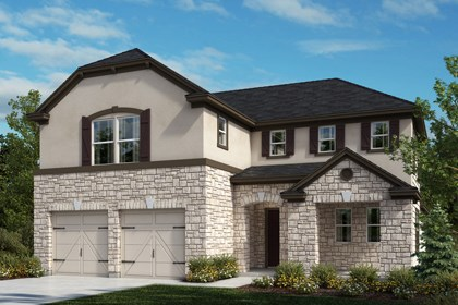 New Homes in Universal City, TX - The 2502 D