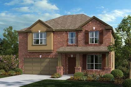New Homes in Universal City, TX - The 2755 B