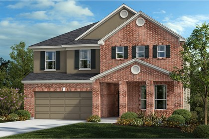 New Homes in Universal City, TX - The 2881 B