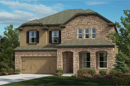 New Homes in Universal City, TX - Plan 2881 D