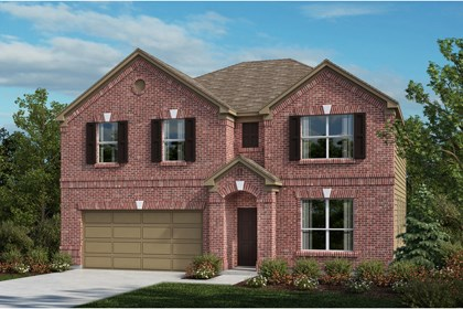 New Homes in Universal City, TX - The 3125 A