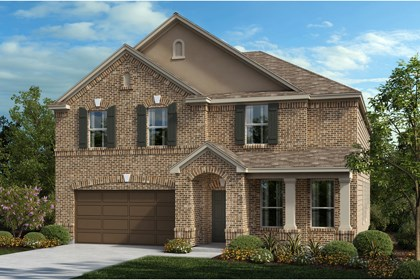 New Homes in Universal City, TX - The 3125 B