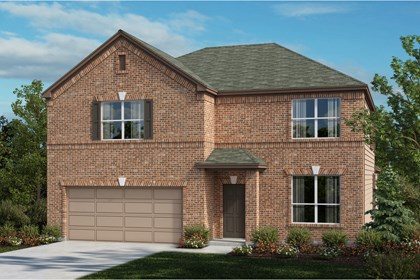 New Homes in Universal City, TX - The 3417 A