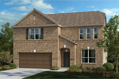 New Homes in Universal City, TX - The 3417 B