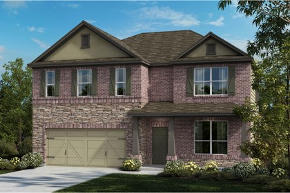 New Homes in Universal City, TX - The 3417 C